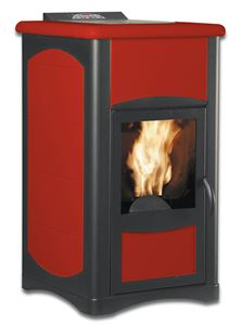 Ergoflam Idro Plus 14.5kW red